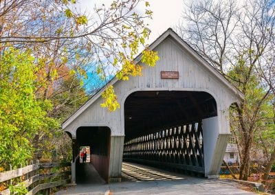 Woodstock Middle Bridge North Portal - Woodstock, VT