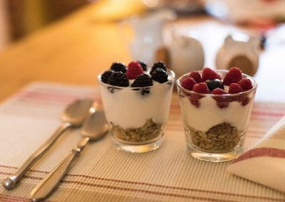 Two mini parfaits