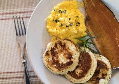 The Woodstocker Breakfast